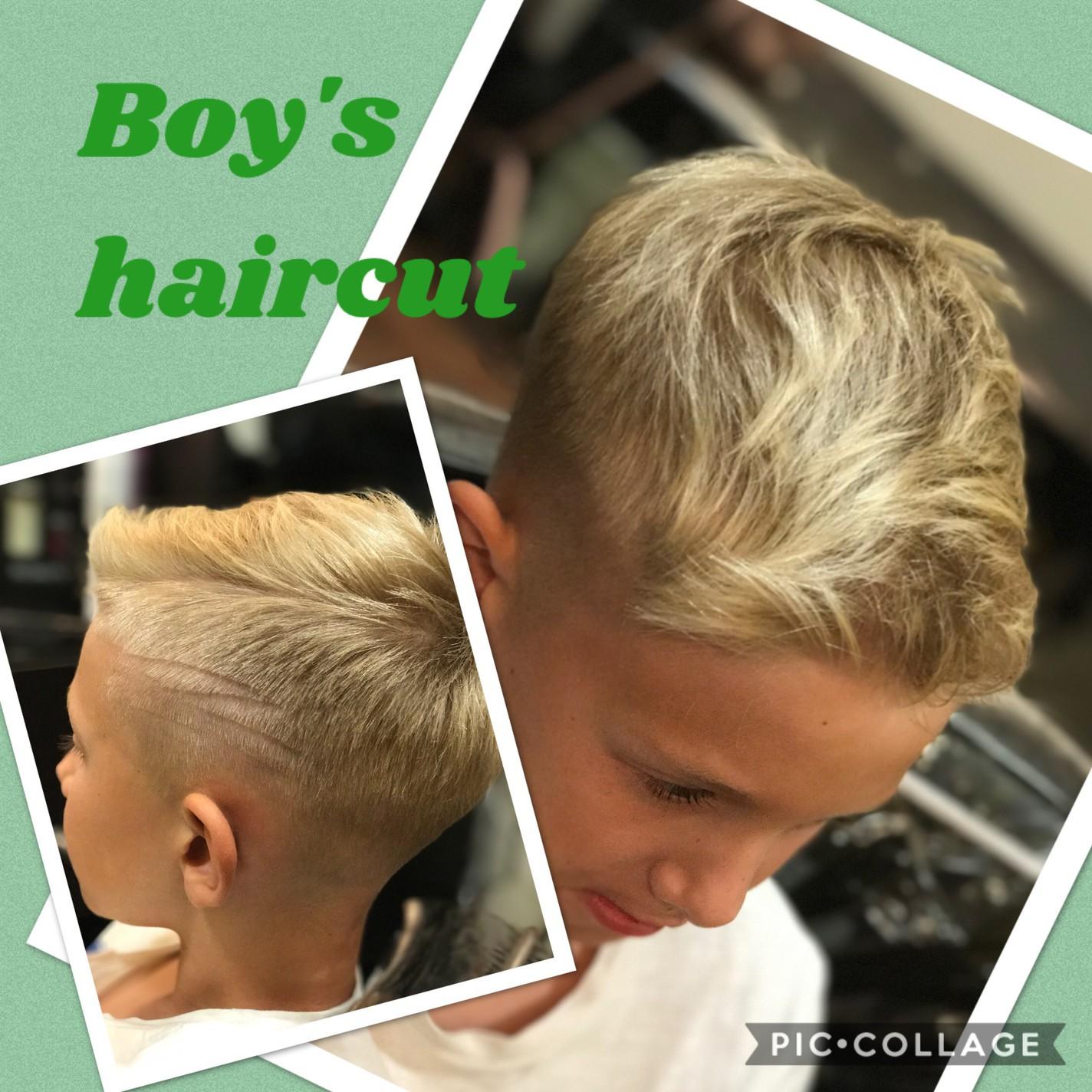 Boys Haircut In La Jolla