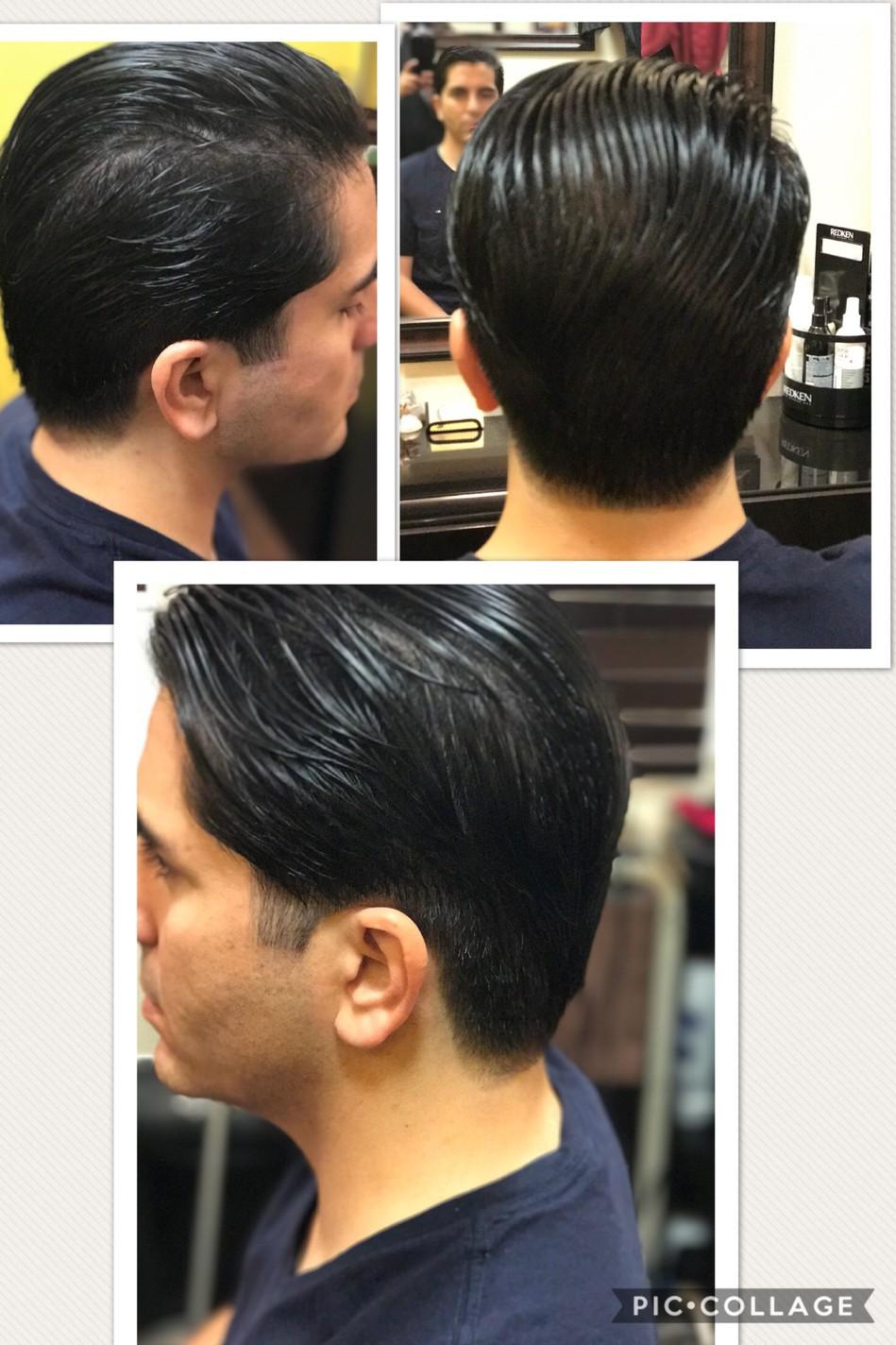 Mens Haircut In La Jolla